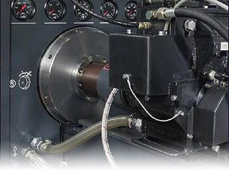 Comprobación en banco de pruebas de Inyector Bomba